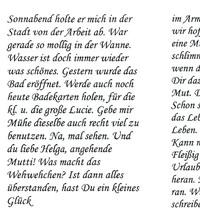 Sütterlin von 1964 - Übersetzung